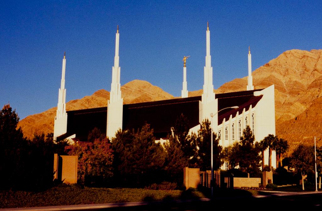 Las Vegas Mormon Temple Sah Archipedia